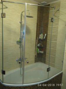 Двери на ванну овальной формы