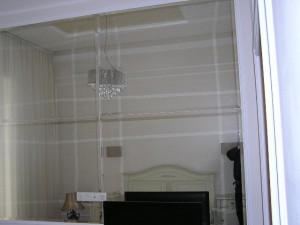 P1010401Зеркальная стена,с фацетными элементами, в Одессе