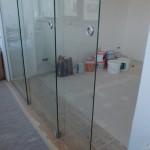 Межкомнатные раздвижные перегородки из стекла